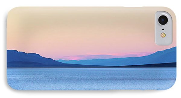 Badwater - Death Valley IPhone Case by Peter Tellone