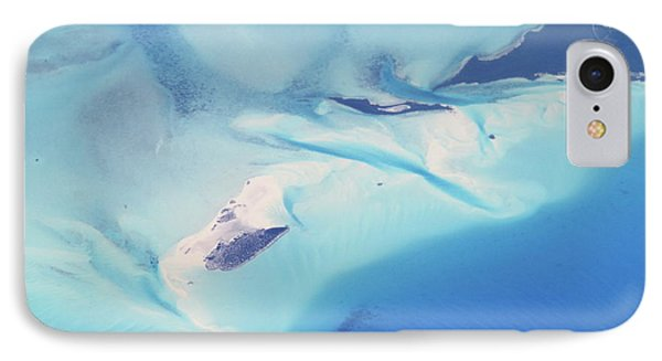 IPhone Case featuring the photograph Bahama Banks Aerial Seascape by Roupen  Baker