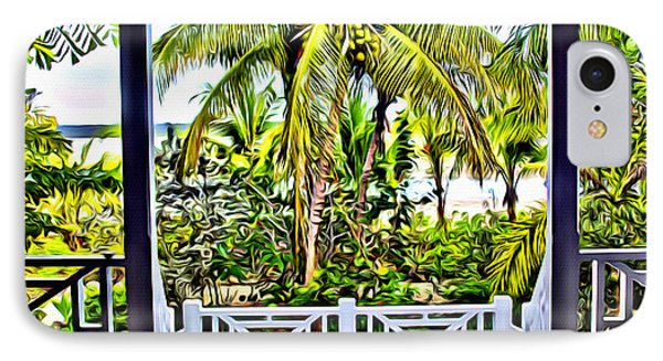 Bahama House View IPhone Case