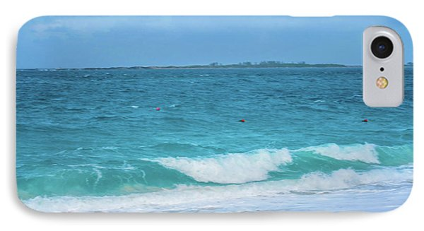 Bahama Waves IPhone Case by Rick Grossman