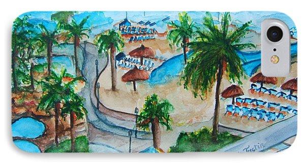 Bahamas Balcony Phone Case by Elaine Duras