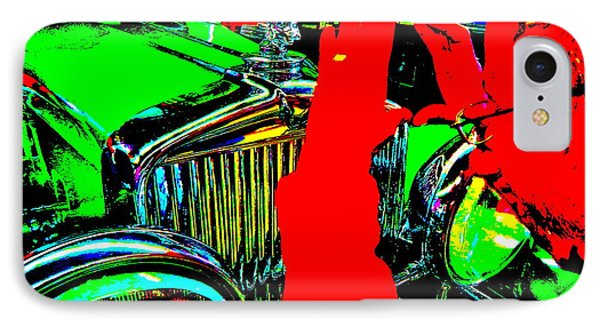 Bahre Car Show II 22 IPhone Case by George Ramos