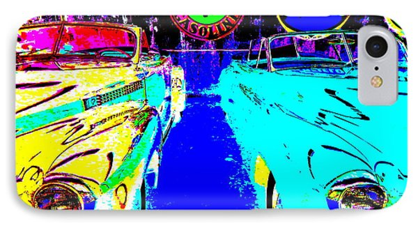 Bahre Car Show II 40 IPhone Case by George Ramos