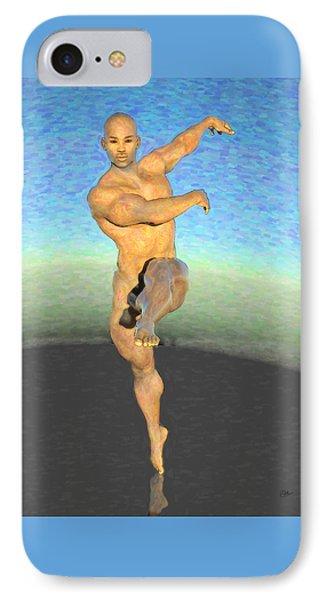 Bailarin Desnudo IPhone Case