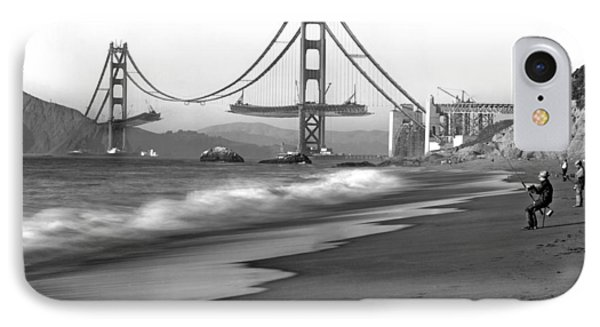 Baker Beach In Sf IPhone Case by Underwood Archives
