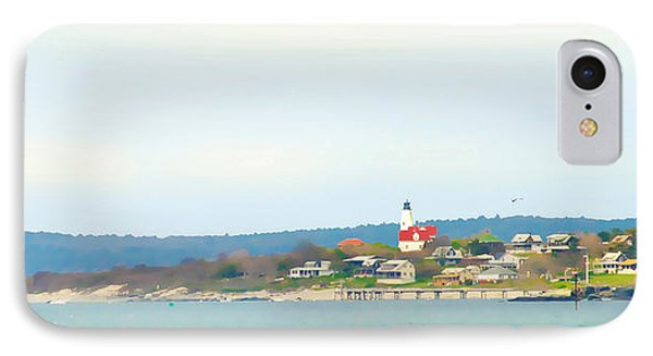 Bakers Island Lighthouse IPhone Case by Michelle Wiarda