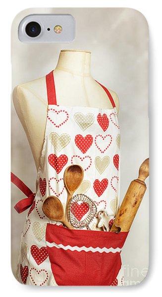 Baking Apron IPhone Case by Amanda Elwell