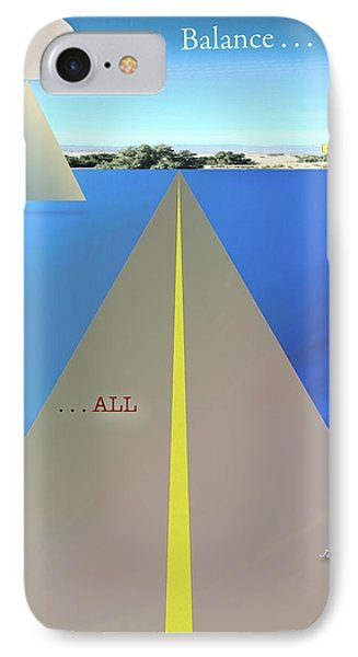 Balance All Phone Case by Jack Eadon