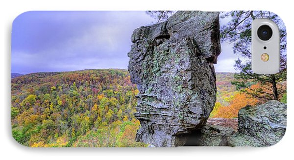 Balancing Act In The Ozarks IPhone Case by JC Findley