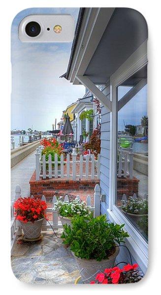 Balboa Island Beach House 2 IPhone Case