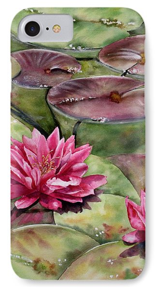 Balboa Water Lilies IPhone Case
