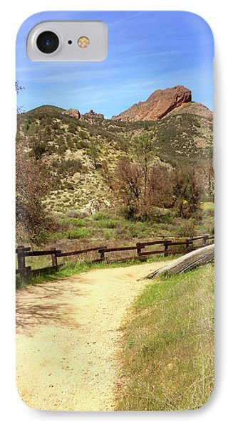 IPhone Case featuring the photograph Balconies Trail - Pinnacles National Park by Art Block Collections