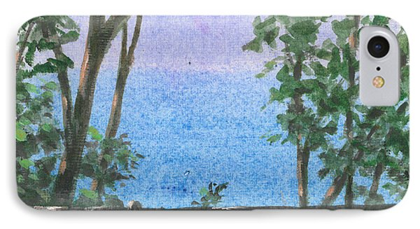 Balcony View IPhone Case by Lincoln Seligman