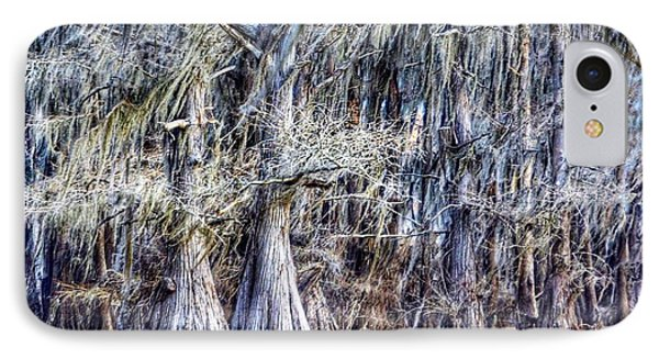 IPhone Case featuring the photograph Bald Cypress In Caddo Lake by Sumoflam Photography