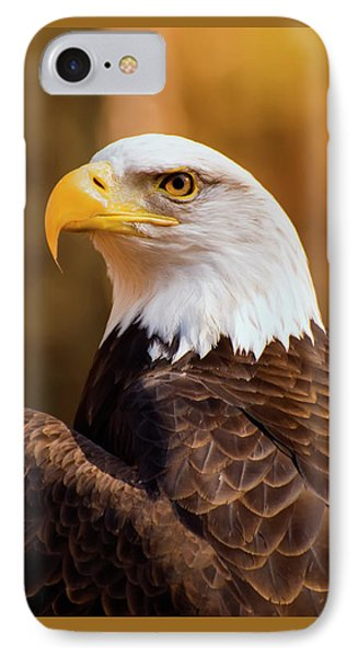 Bald Eagle 2 IPhone Case by Chris Flees