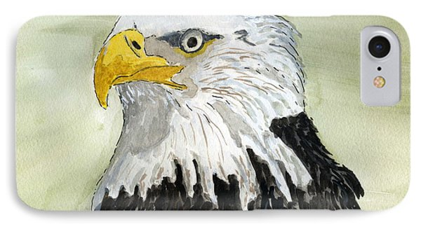 Bald Eagle IPhone Case by Eva Ason