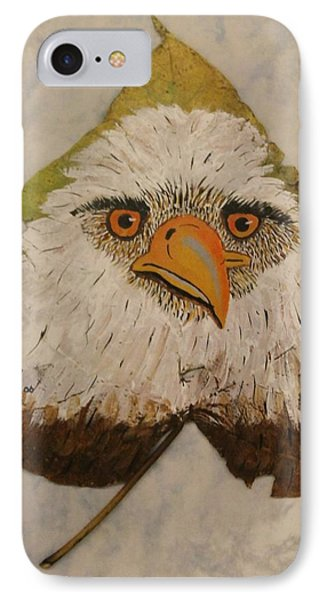 Bald Eagle Front View IPhone Case