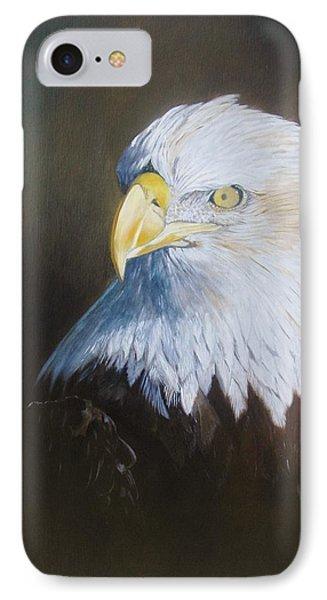 Bald Eagle IPhone Case by Jean Yves Crispo