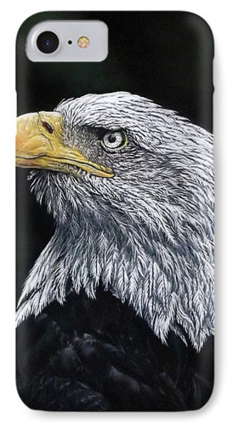 Bald Eagle IPhone Case by Linda Becker