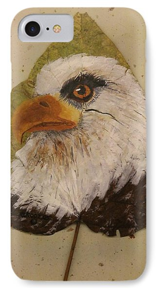Bald Eagle Side Veiw IPhone Case by Ralph Root
