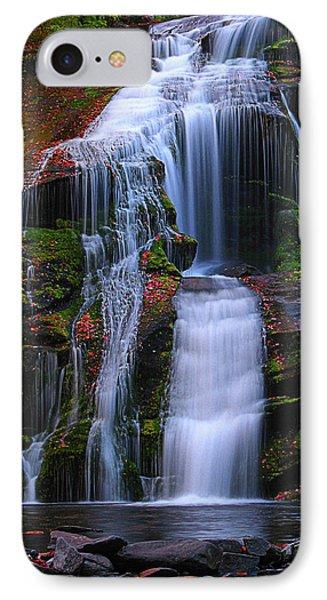 Bald River Falls IPhone Case by Elijah Knight