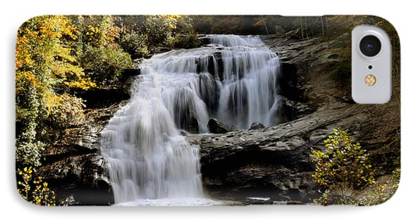 Bald River Falls In Autumn Phone Case by Darrell Young