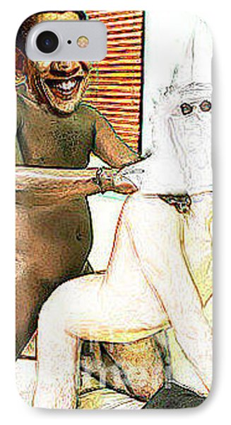 Sexual Healing / Barrack Obama Nude Painting IPhone Case by Chad Baldwin