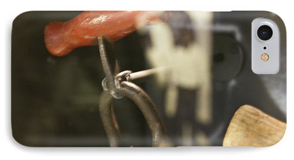 IPhone Case featuring the photograph Bale Hooks by Miroslava Jurcik