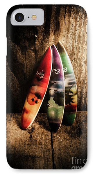Bali Beach Surf Holiday Scene IPhone Case
