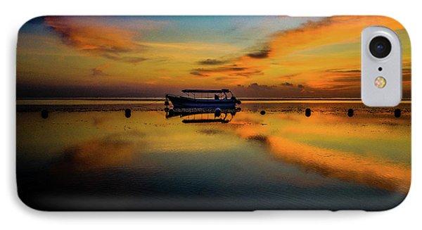 Bali Sunrise 3 IPhone Case by M G Whittingham