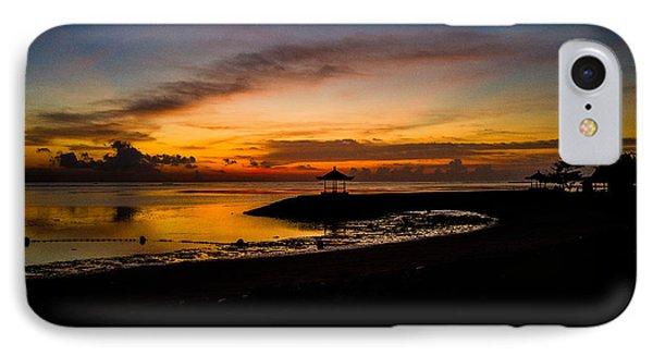 Bali Sunrise I IPhone Case by M G Whittingham