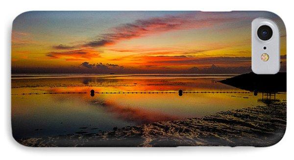 Bali Sunrise II IPhone Case by M G Whittingham