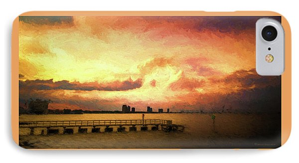 Ballast Point Glow IPhone Case by Marvin Spates