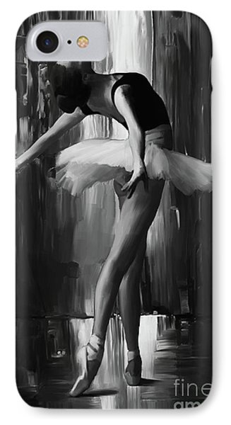 Ballerina 0xd03 IPhone Case by Gull G