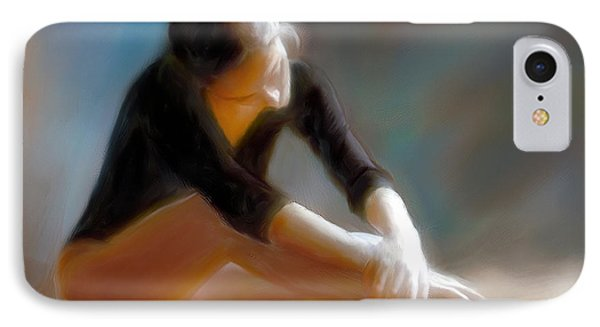 IPhone Case featuring the photograph Ballerina 3 by Juan Carlos Ferro Duque