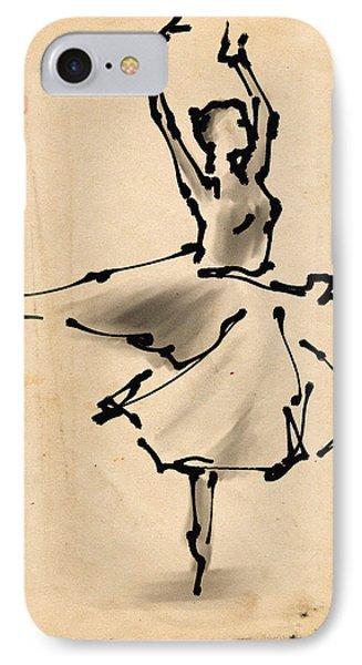 Ballerina 5 IPhone Case