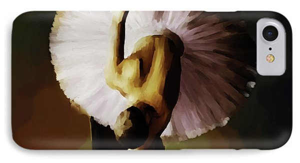 Ballerina Art 021 IPhone Case by Gull G