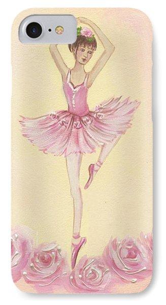 Ballerina Beauty Painting IPhone Case