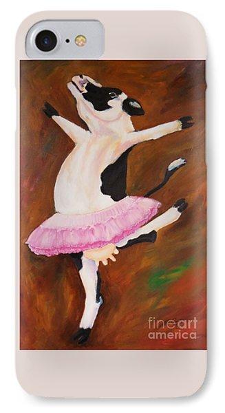 Ballerina Cow IPhone Case
