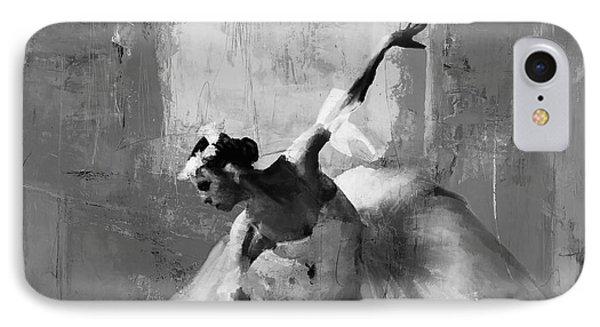 Ballerina Dance On The Floor  IPhone Case by Gull G