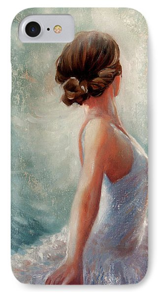 Ballerina Dazzle IPhone Case by Michael Rock