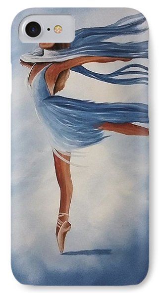 Ballerina IPhone Case by Edwin Alverio