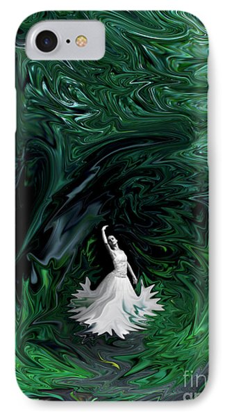 IPhone Case featuring the photograph Ballerina In Wonderland by Rebecca Margraf