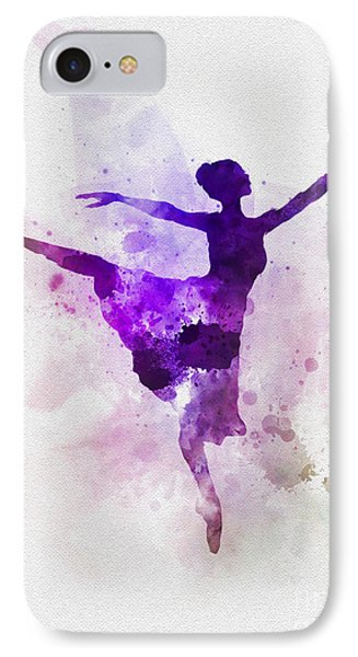 Ballerina IPhone Case by Rebecca Jenkins