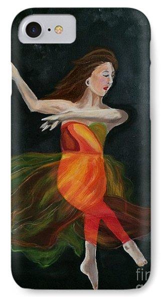 Ballet Dancer 2 IPhone Case by Brindha Naveen