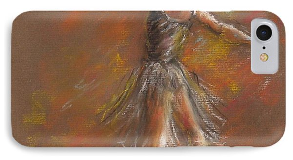 Ballet Dancer IPhone Case by Bonnie Goedecke