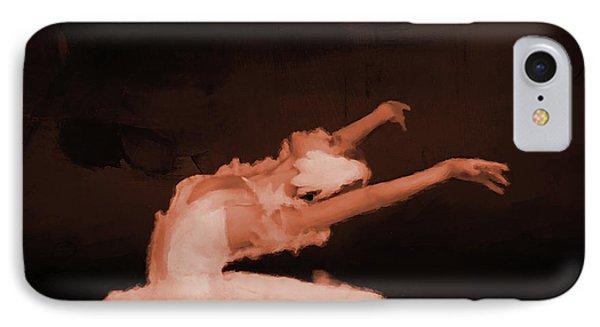 Ballet Dancer In White 01 IPhone Case