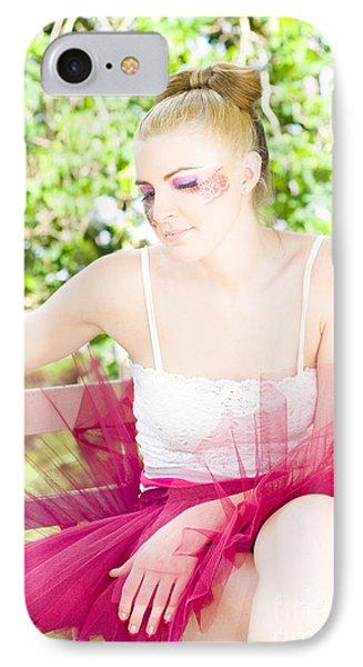 Ballet Dancer IPhone Case by Jorgo Photography - Wall Art Gallery