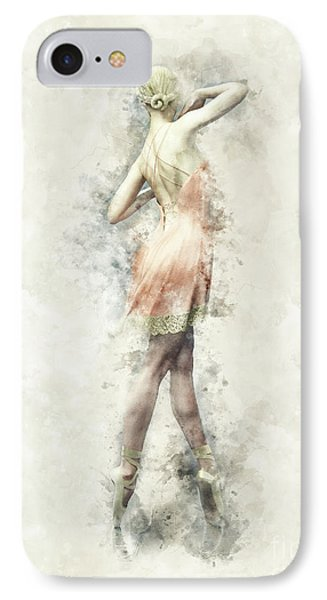 Ballet Dancer IPhone Case by Shanina Conway