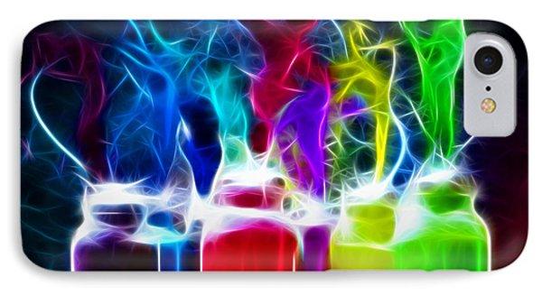 Ballet Of Colors Phone Case by Pamela Johnson